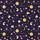 Mond-Kaninchen von Natalia Linnik