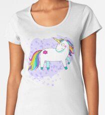 Happy Unicorn Women's Premium T-Shirt