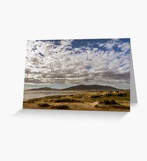 Andalusian coastline Greeting Card