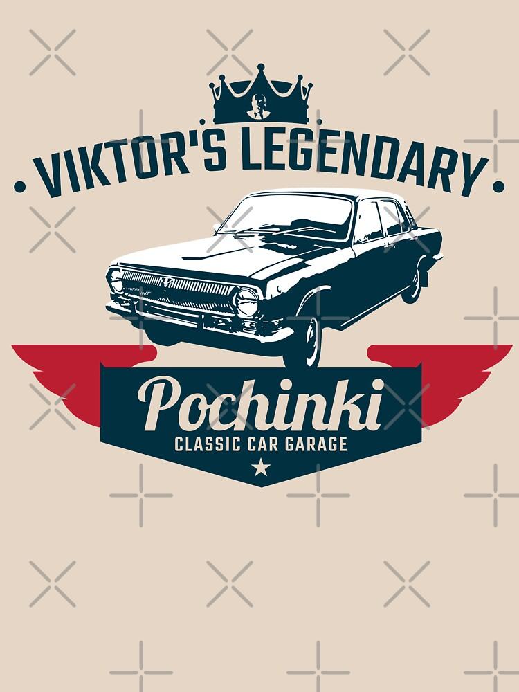 Pochinki Car Garage Pubg Classic T Shirt By Essenti4lgoods Redbubble