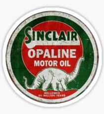 Sinclair Opaline Motoröl Sticker