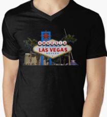 Amnesia Las Vegas Men's V-Neck T-Shirt