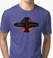 I aim to misbehave Tri-blend T-Shirt