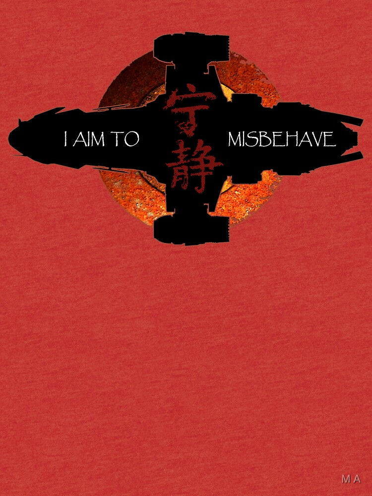 I aim to misbehave by moali