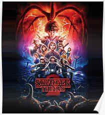 Stranger Things Season 2 Poster Poster