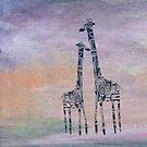Giraffen von Marianna Tankelevich