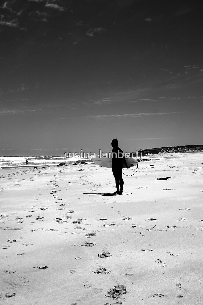Loney surfer by Rosina  Lamberti