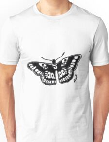 Butterfly Tattoo Unisex T-Shirt