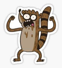Coffee Rigby (Regular Show) Sticker
