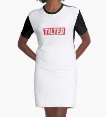 Supremely Tilted. Graphic T-Shirt Dress