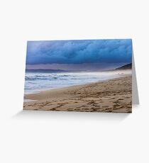 Andalucian Coastline - Zahara de los Atunes Greeting Card