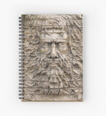 Old man Spiral Notebook
