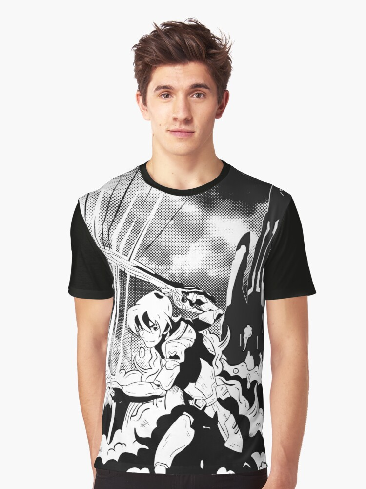 Keith Paladin Graphic T-Shirt Front