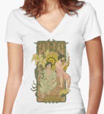FOTC Mucha Women's Fitted V-Neck T-Shirt