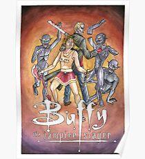 Buffy the vampire Slayers fanart  Poster