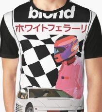 White Ferrari  Graphic T-Shirt