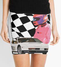 White Ferrari  Mini Skirt