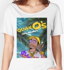 Quavo's Cereal Beach Blue Women's Relaxed Fit T-Shirt