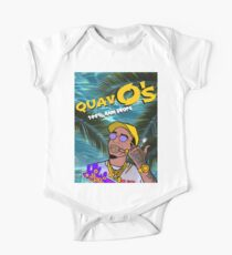Quavo's Cereal Beach Blue One Piece - Short Sleeve