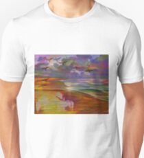 Back to east sunset 004 24 10 17  T-Shirt
