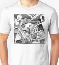 Escher Staircases Unisex T-Shirt
