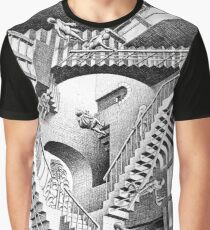 Escher Staircases Graphic T-Shirt