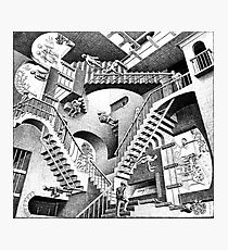 Escher Staircases Photographic Print