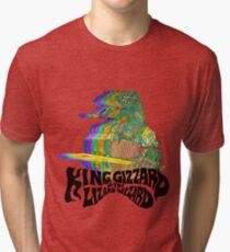 Camiseta de tejido mixto Rey Gizzard Lizzard