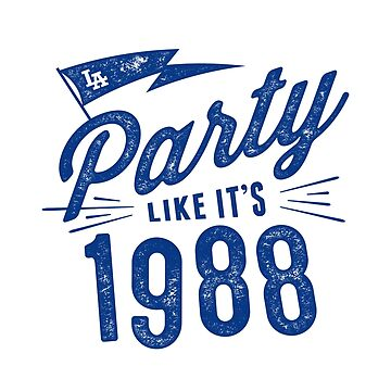 Party like it's 1988 by DesignSyndicate