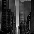 Downtown Toronto Fogfest No 25 by Brian Carson