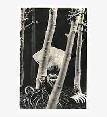 Oyster Boy - Tim Burton Photographic Print