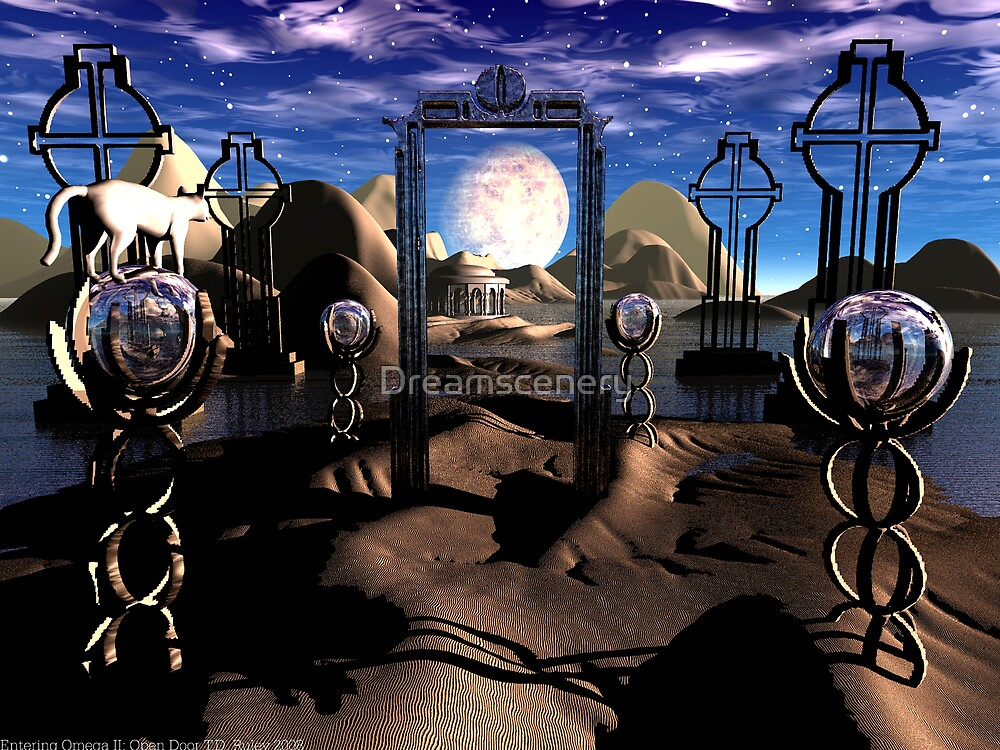 Entering Omega II: Open Door by Dreamscenery