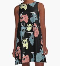 Goats A-Line Dress