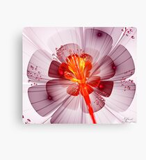 Sunrise Flower Canvas Print