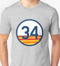 #34 HOUSTON  Unisex T-Shirt
