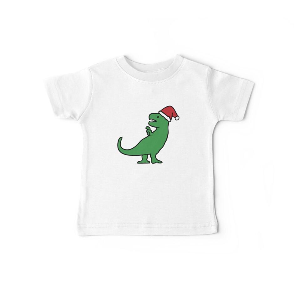 Christmas T-Rex by jezkemp