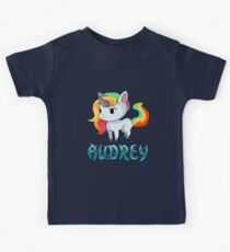 Audrey Unicorn Sticker Kids Clothes
