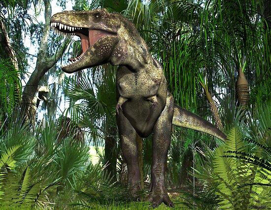 Tyrannosaurus by Walter Colvin
