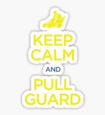 Keep Calm and Pull Guard (Jiu Jitsu) Sticker