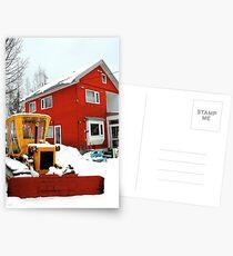 Postales Little house, Little tractor