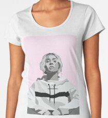 Beyonce Vector Portrait  Women's Premium T-Shirt