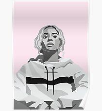 Beyonce Vector Portrait  Poster