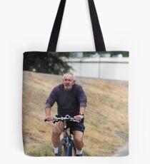 Cyclist Tote Bag