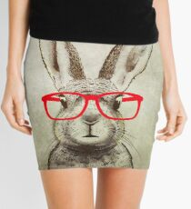 quirky bunny Mini Skirt