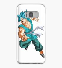 Goku Super Saiyan God Blue Samsung Galaxy Case/Skin