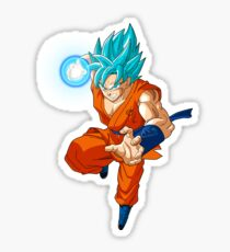 Goku Super Saiyan Blue Power Sticker
