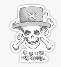 Realistic Jolly Roger- Tony Tony Chopper Sticker