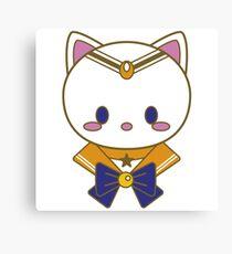 Sailor Kitten Venus Canvas Print