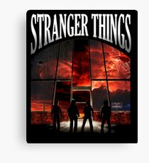 Stranger Things The MIst Canvas Print