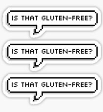 Is That Gluten-Free? Sticker